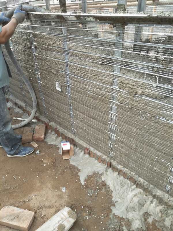 墙体浇筑混凝土